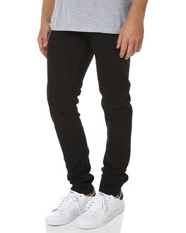 ORGANIC BLACK MENS CLOTHING DR DENIM JEANS - 1330125-A06