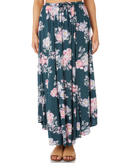 PETROL FLORAL WOMENS CLOTHING O'NEILL SKIRTS - 5421616PTF