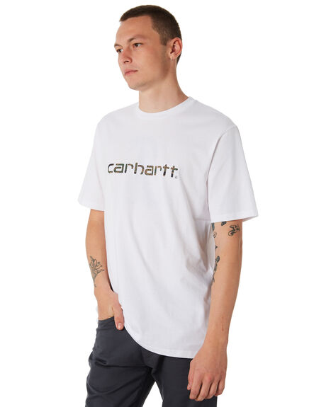 WHITE MENS CLOTHING CARHARTT TEES - I02380302
