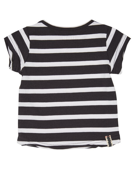 BLACK WHITE STRIPE OUTLET KIDS MUNSTER KIDS CLOTHING - MI181TE08BWS