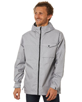 HIGH RISE HEATHER MENS CLOTHING BURTON JACKETS - 196021022