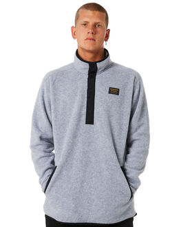 GRAY HEATHER MENS CLOTHING BURTON JUMPERS - 173501020SP18