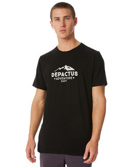 BLACK OUTLET MENS DEPACTUS TEES - D5184001BLACK