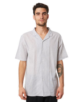GREY MENS CLOTHING HUFFER SHIRTS - MSH94S5806GREY