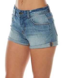 BLUE MIST WOMENS CLOTHING BILLABONG SHORTS - 6575272BLU