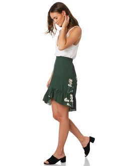 MUSTANG GREEN WOMENS CLOTHING RUE STIIC SKIRTS - SA19-20-BMG