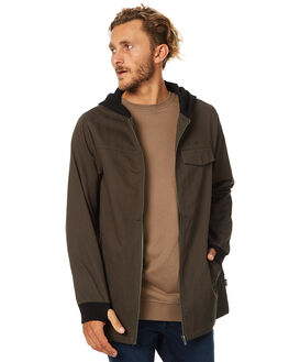 FOREST GREEN MENS CLOTHING RPM JACKETS - 7AMT22AFRST