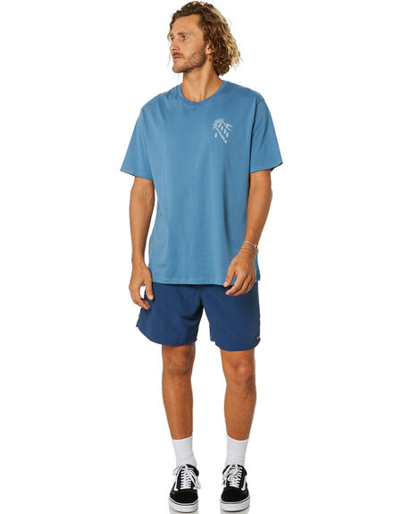 STONE BLUE MENS CLOTHING PATAGONIA BOARDSHORTS - 58034SNBL