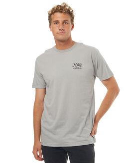 HEATHER GREY MENS CLOTHING KATIN TEES - KNSERH16HGRY
