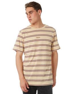 CLAY MENS CLOTHING RVCA TEES - R182051CLAY