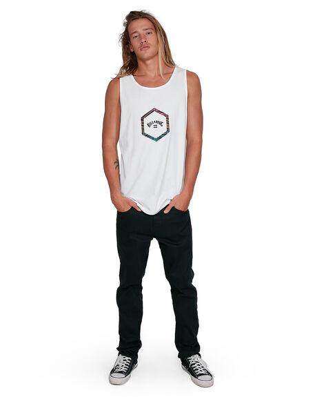 WHITE MENS CLOTHING BILLABONG SINGLETS - BB-9503501-WHT