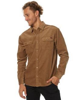 TOBACCO MENS CLOTHING BILLABONG SHIRTS - 9571213T21