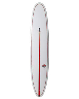 POLISHED CLEAR WITH V COLOUR BOARDSPORTS SURF CLASSIC MALIBU LONGBOARD - CLAVFLEXCLE