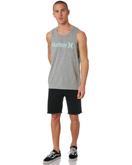 GREY HEATHER MENS CLOTHING HURLEY SINGLETS - 892170064