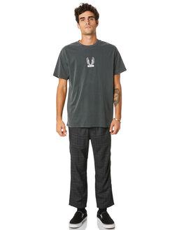 MERCH BLACK MENS CLOTHING THRILLS TEES - TW20-105BMMCBLK