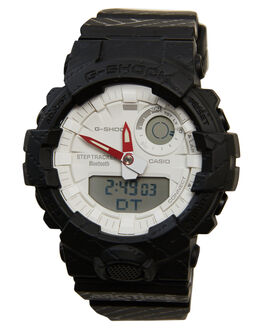 BLACK MENS ACCESSORIES G SHOCK WATCHES - GBA800AT-1ABLK
