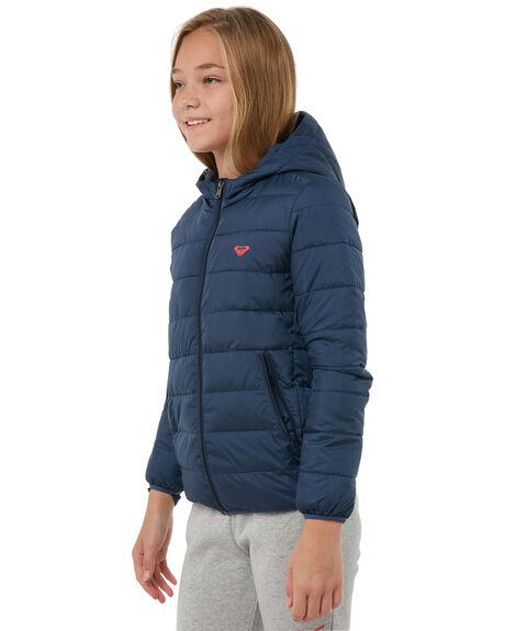 DRESS BLUES KIDS GIRLS ROXY JACKETS - ERGJK03050BTK0