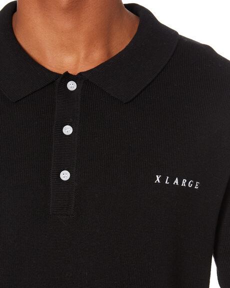 BLACK MENS CLOTHING XLARGE SHIRTS - XL013302BLK