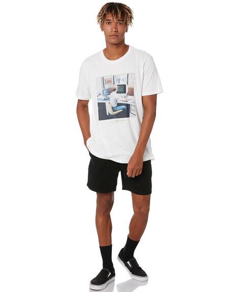 VINTAGE WHITE MENS CLOTHING LEE TEES - L-602057-066