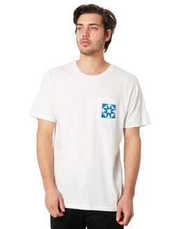 WHITE OUTLET MENS MOLLUSK TEES - MS1736WHI