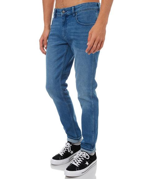 CLERKS BLUE MENS CLOTHING WRANGLER JEANS - W-900999-DE1CLBLU