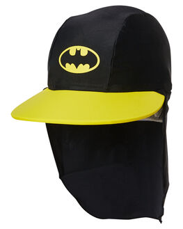 BLACK YELLOW KIDS TODDLER BOYS ZOGGS HEADWEAR - 7615185OSBLKYL
