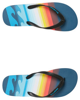 BLUE MENS FOOTWEAR BILLABONG THONGS - 9681940BLUE