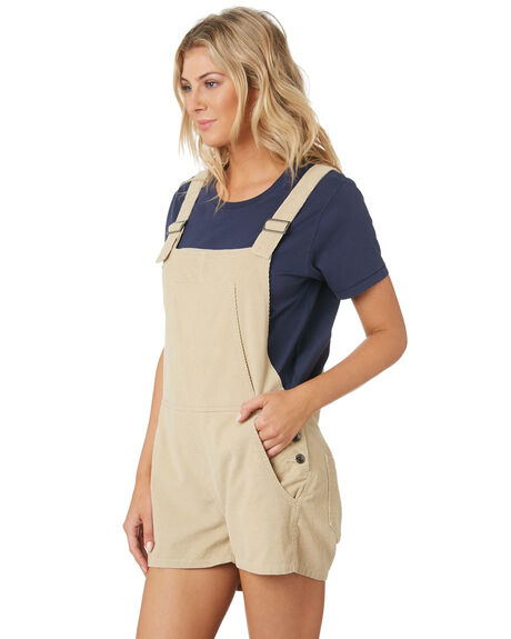 LIGHT FENNEL WOMENS CLOTHING RUSTY PLAYSUITS + OVERALLS - MCL0315FEN