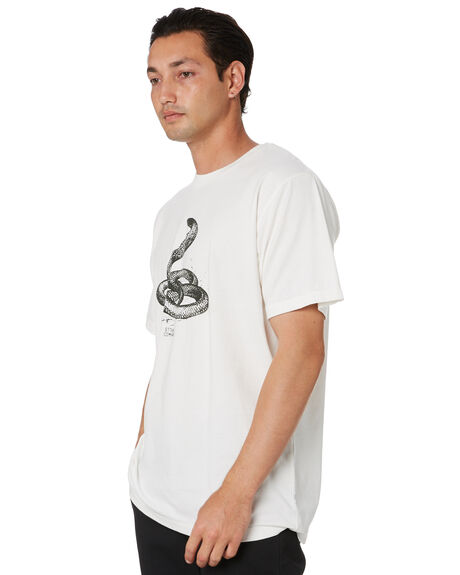 DIRTY WHITE MENS CLOTHING THRILLS TEES - SMU20-149ADWT