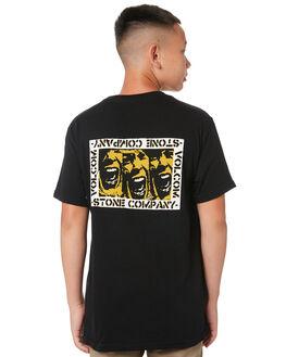 BLACK KIDS BOYS VOLCOM TOPS - C3512010BLK