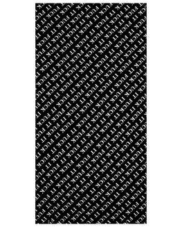 BLACK MENS ACCESSORIES HUF TOWELS - AC00229-BLACK