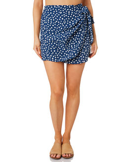PEBBLES NAVY WOMENS CLOTHING RUE STIIC SKIRTS - RWS-19-18-3PBLNV