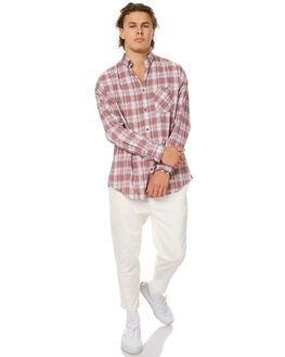MAUVE MENS CLOTHING ZANEROBE SHIRTS - 313-RISEMAUVE