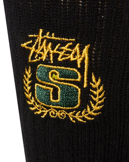BLACK MENS CLOTHING STUSSY SOCKS + UNDERWEAR - ST796016MUL