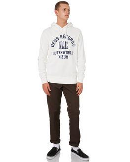 VINTAGE WHITE MENS CLOTHING DEUS EX MACHINA JUMPERS - DMP98741VNWHT