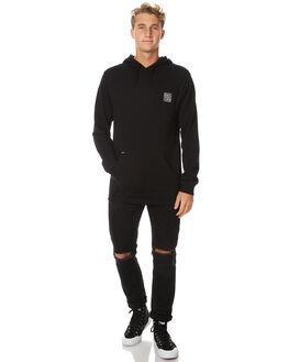 BLACK MENS CLOTHING RVCA JUMPERS - R171153BLK