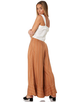 FRANCESCA STRIPE WOMENS CLOTHING SANCIA PANTS - 820ASTRP