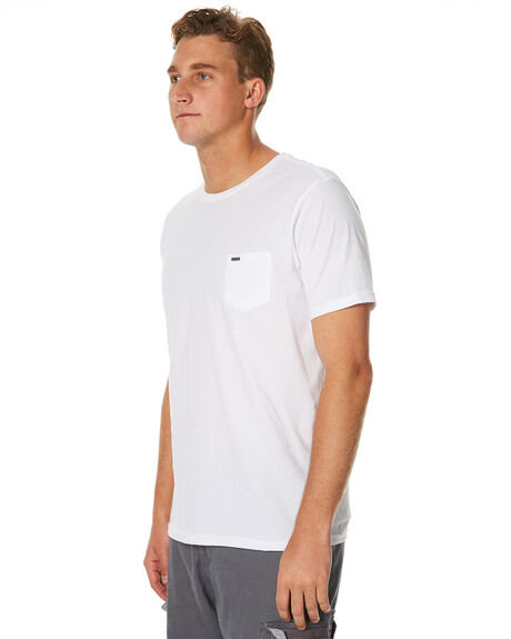 WHITE MENS CLOTHING RIP CURL TEES - CTECV21000