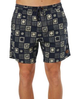 NAVY MENS CLOTHING DEUS EX MACHINA BOARDSHORTS - DMS72953NVY
