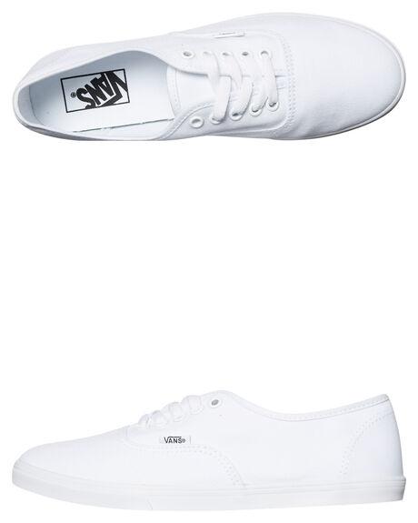 WHITE WOMENS FOOTWEAR VANS SNEAKERS - SSVN-0F7BQLZWHTW