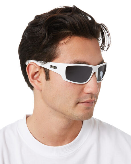 MATTE WHITE MENS ACCESSORIES LIIVE VISION SUNGLASSES - L0567BMWHT