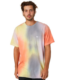 ORANGE MENS CLOTHING STUSSY TEES - ST093012ORG