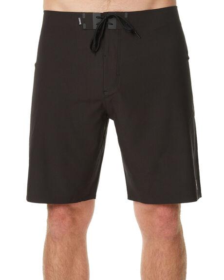 BLACK MENS CLOTHING BANKS BOARDSHORTS - BS0091BLK