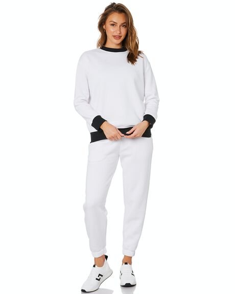 WHITE WOMENS CLOTHING DK ACTIVE ACTIVEWEAR - DK05-019-WHT-XS