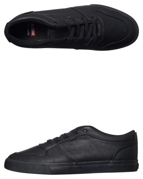 BLACK BTS MENS FOOTWEAR GLOBE SKATE SHOES - GBNEWHAVEN-10053