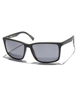 BLACK SMOKE GREY POL MENS ACCESSORIES VONZIPPER SUNGLASSES - SMSLESPSVBLKSM