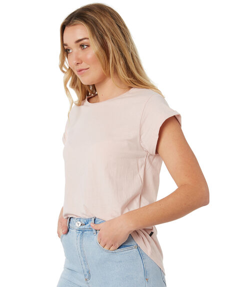 PINK WOMENS CLOTHING SILENT THEORY TEES - 6008046PNK