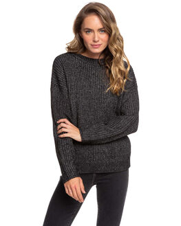 ANTHRACITE WOMENS CLOTHING ROXY KNITS + CARDIGANS - ERJSW03382-KVJ0