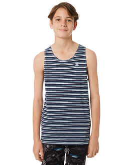 WHITE KIDS BOYS SWELL TOPS - S3184277WHITE
