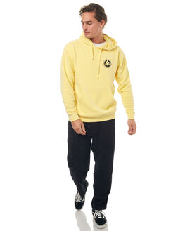 YELLOW MENS CLOTHING WELCOME JUMPERS - SUMMONHDYLW